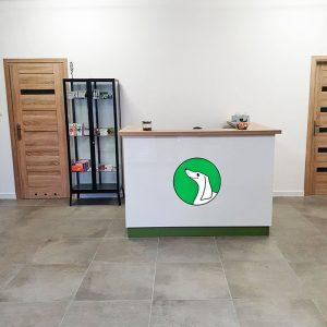 Recepcja lecznicy weterynaryjnej Jamnik w Mińsku Mazowieckim